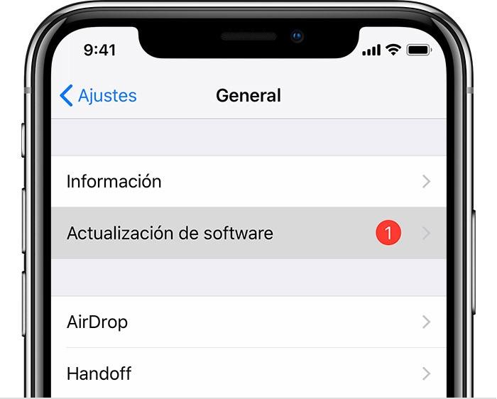 iPhone bloqueado al actualizar - Descarga el archivo de actualización de software nuevamente