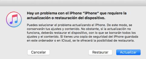 Reparar el problema de iPhone se queda en la manzana - Paso 3