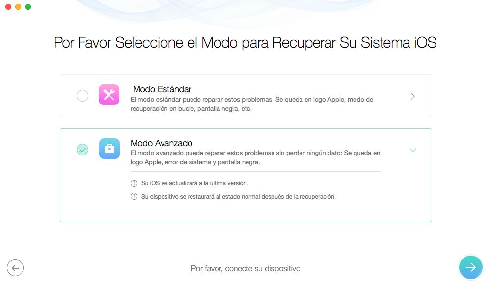 Mi iPhone no prende se queda en la manzana - Paso 3