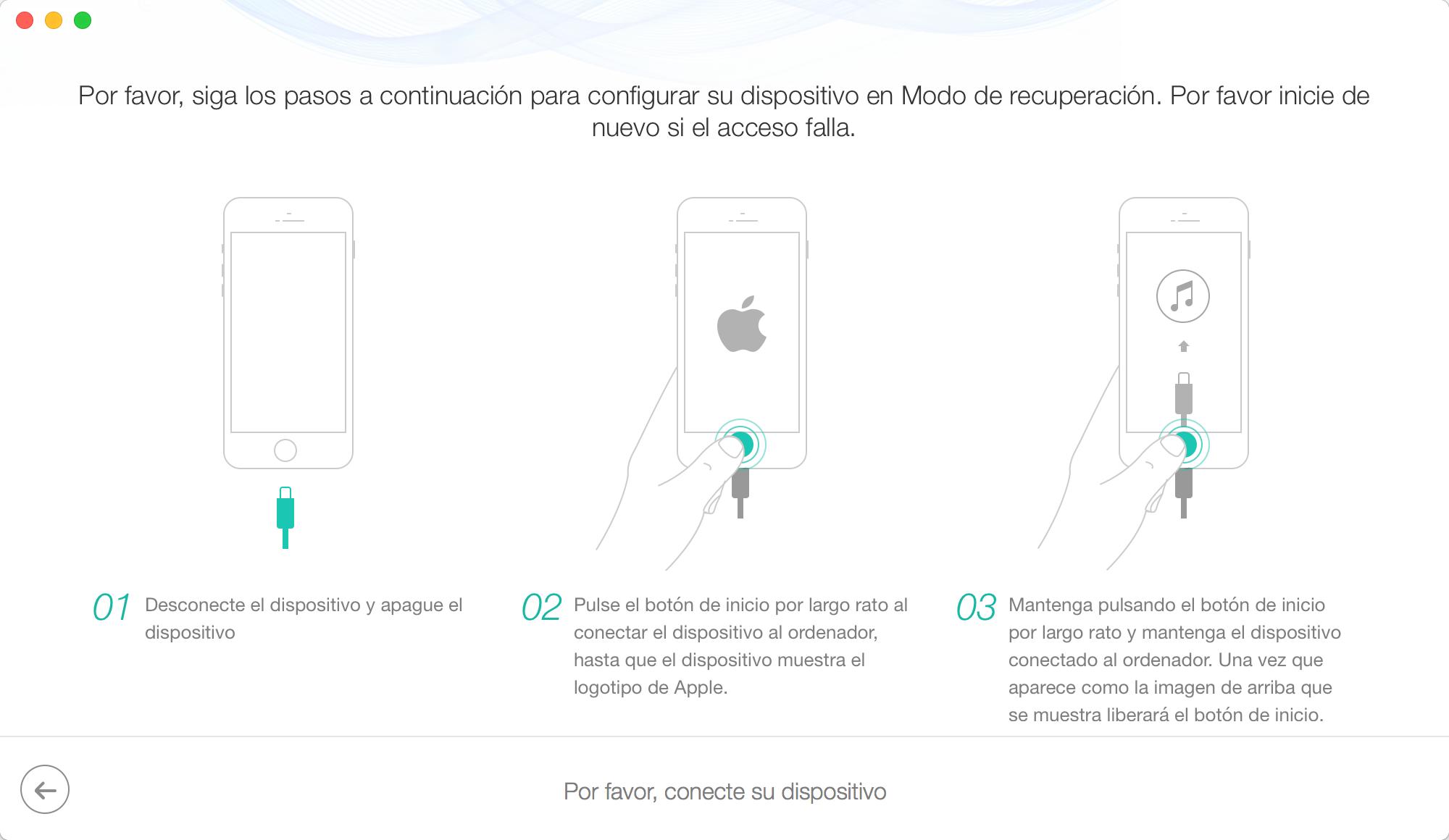 Mi iPhone 8 se queda en la manzana - Paso 4