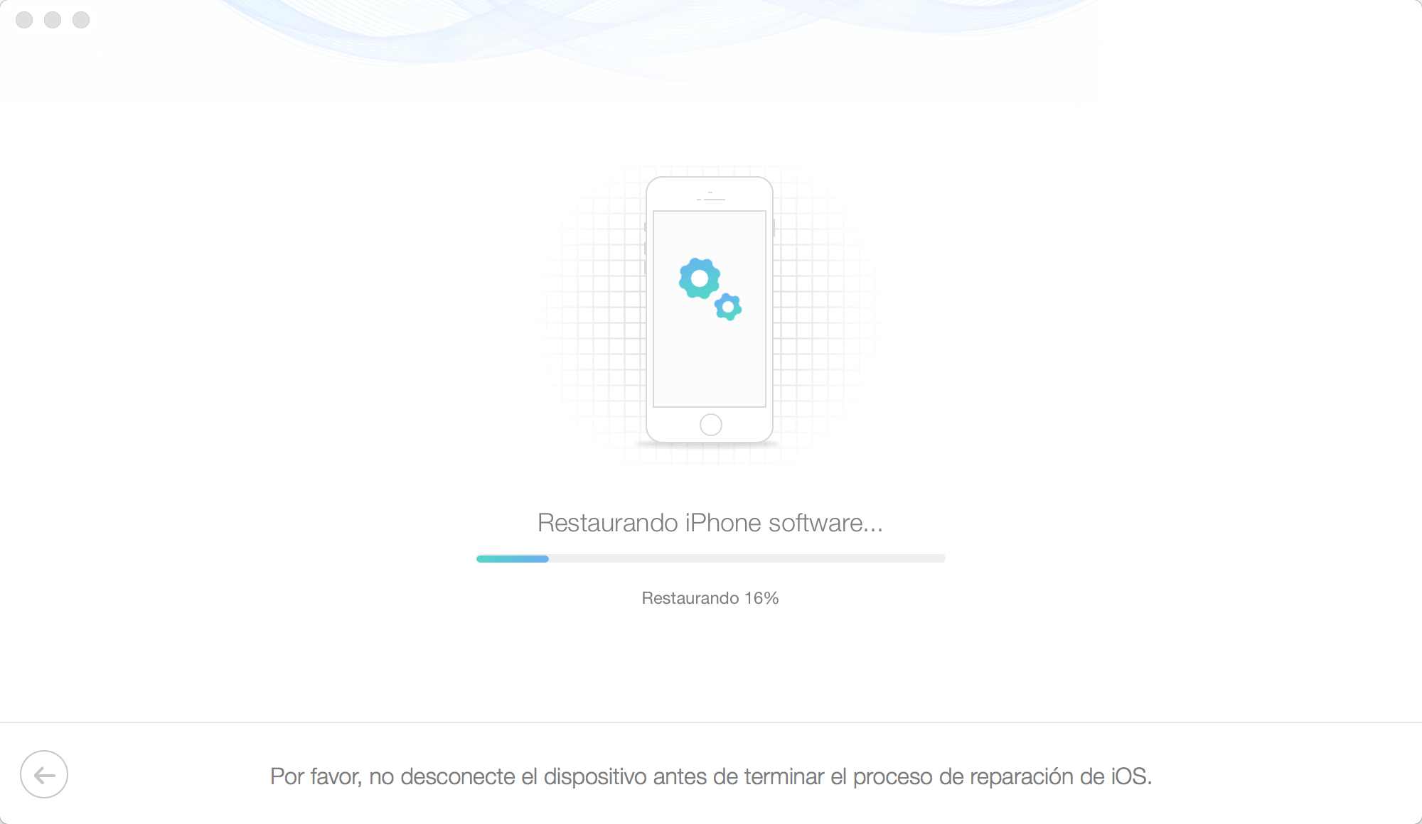 Qué hacer cuando el iPhone se queda en la manzana - Paso 5