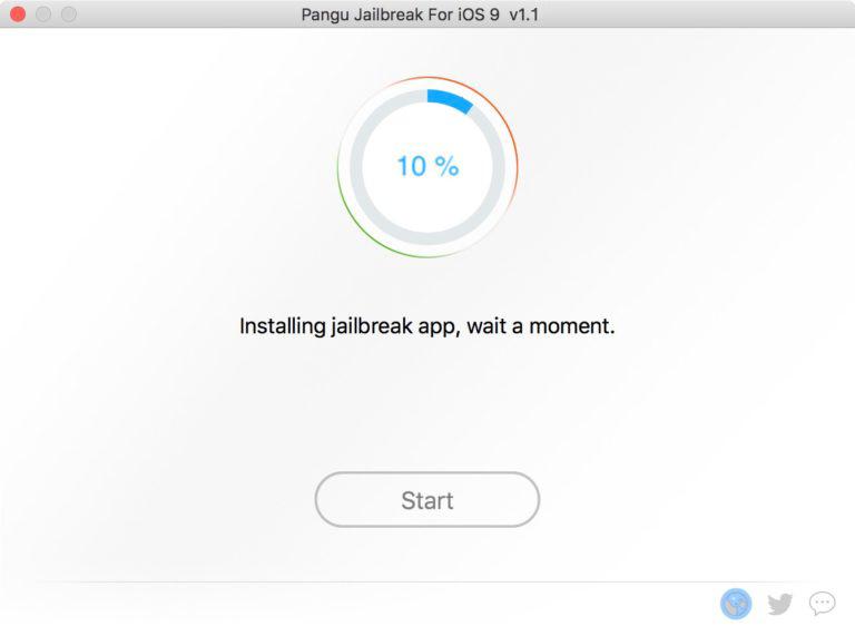 Pangu – Jailbreak ios 10,10.1.1,10.2
