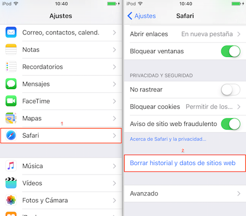 Cómo liberar un iPhone – Truco 5