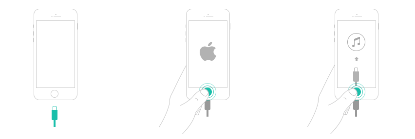 Configura tu iPhone en Modo de recuperación