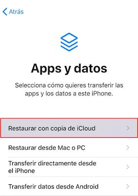 Cómo recuperar el historial borrado con iCloud