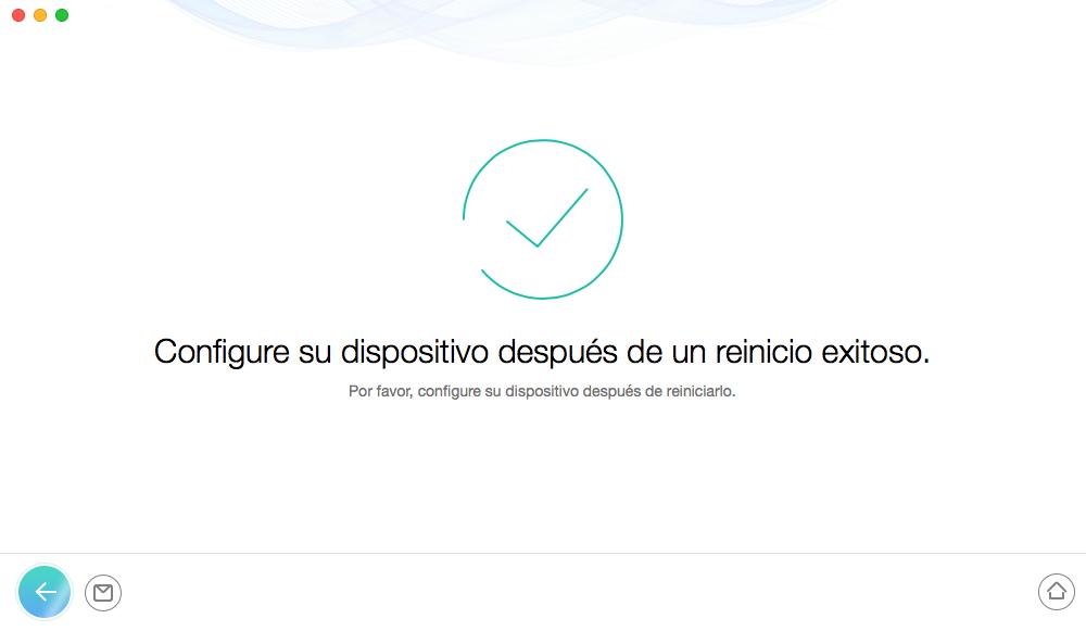 Desbloquear iPhone sin código - Paso 5