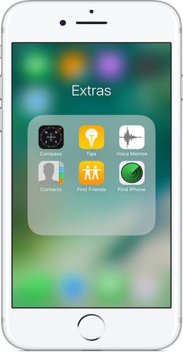 Cómo organizarApps iPhone -Método2