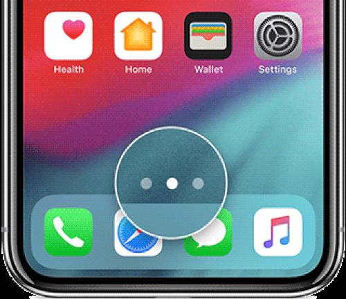 Organizar iconos en diferentes páginas de tu iPhone