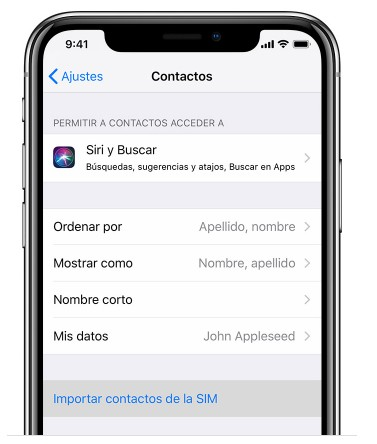 Android a iOS con tarjeta SIM