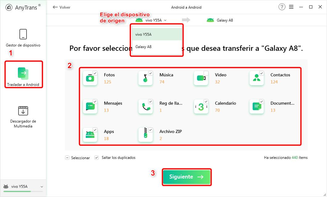 Cómo pasar datos de un Android a otro por manera fácil