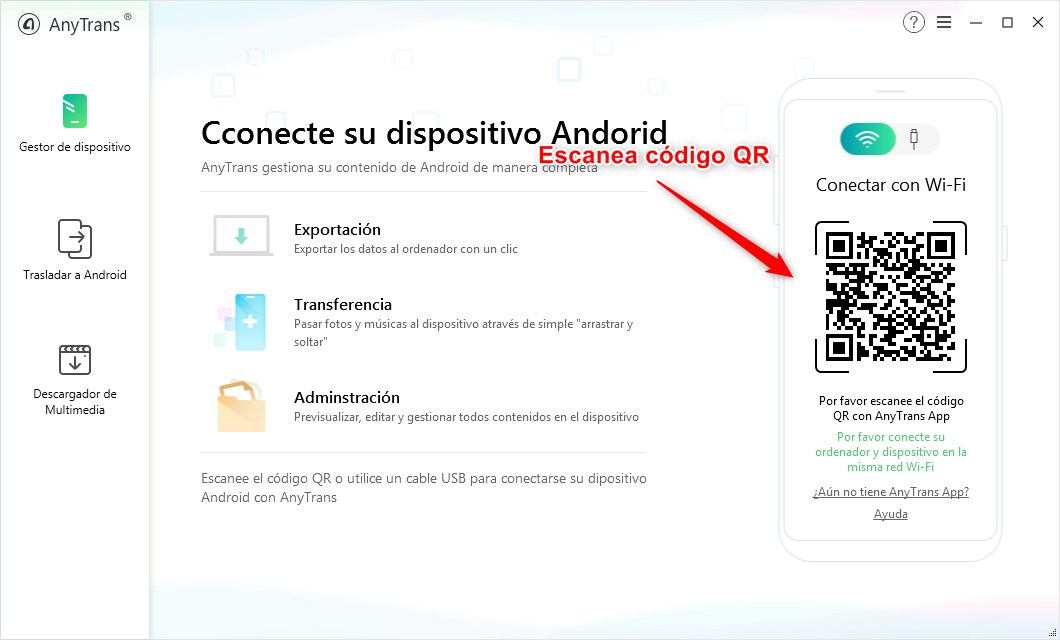 Cómo pasar fotos de Android a PC fácilmente – Conectar por WIFI