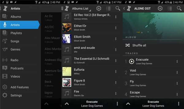Descargar canciones a través de música de Amazon