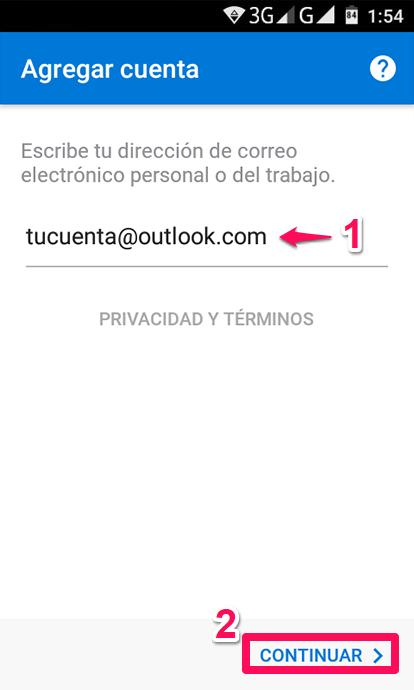 Con Outlook