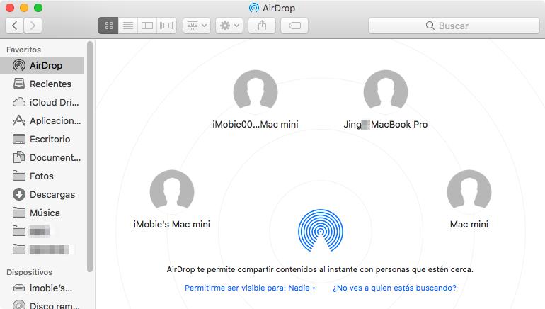 Cómo pasar PDF a iPad con AirDrop
