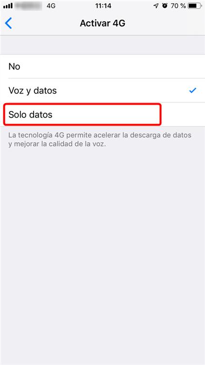 Cómo solucionar porblema de conección en iOS 12.1.2