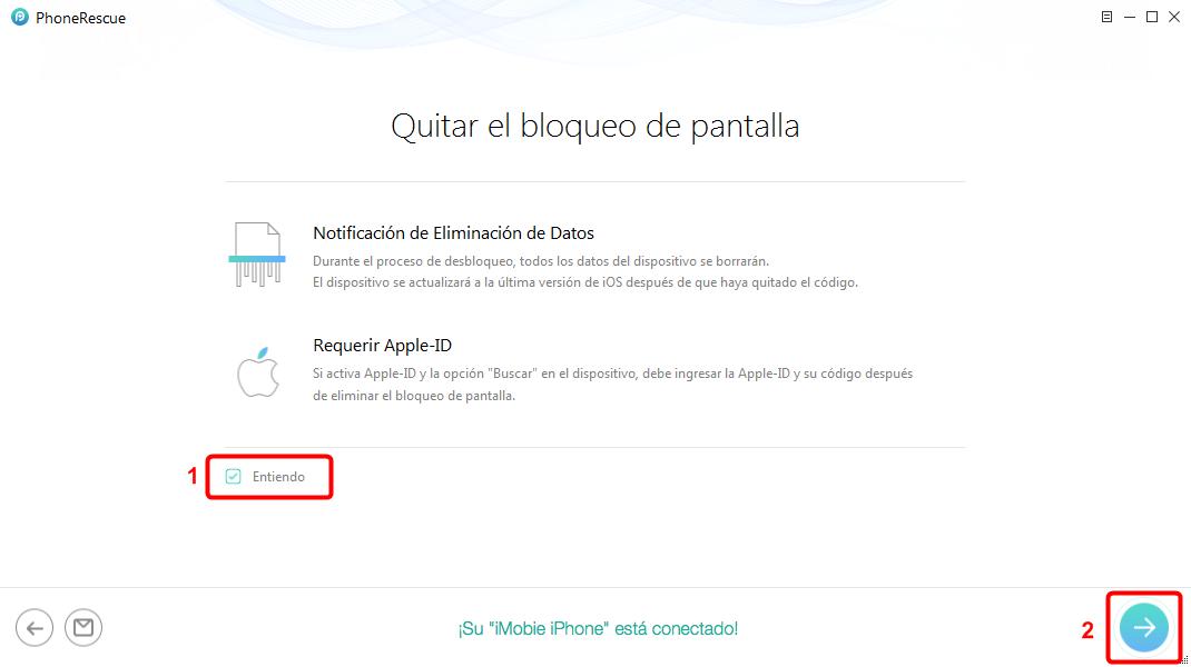 Cómo borrar iPhone sin contraseña utilizando la Mejor Herramienta- 2