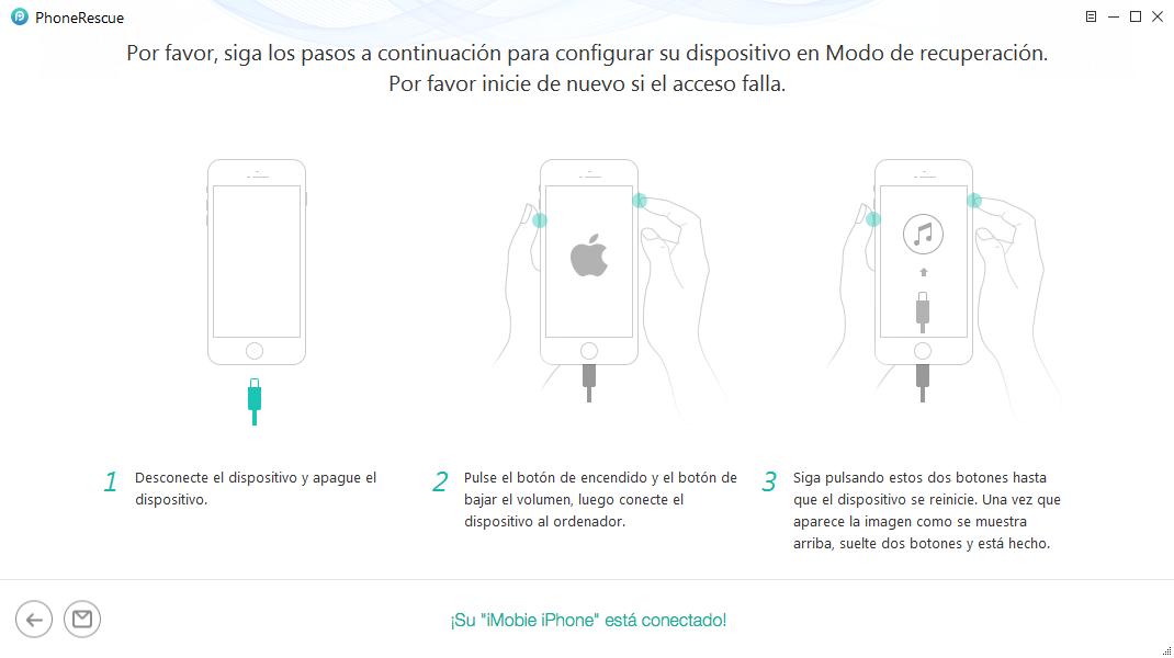 Cómo borrar iPhone sin contraseña utilizando la Mejor Herramienta- 3