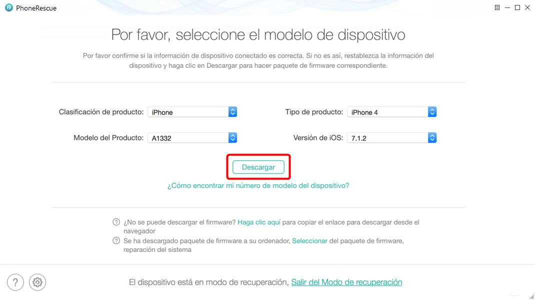 Cómo borrar iPhone sin contraseña utilizando la Mejor Herramienta- 4