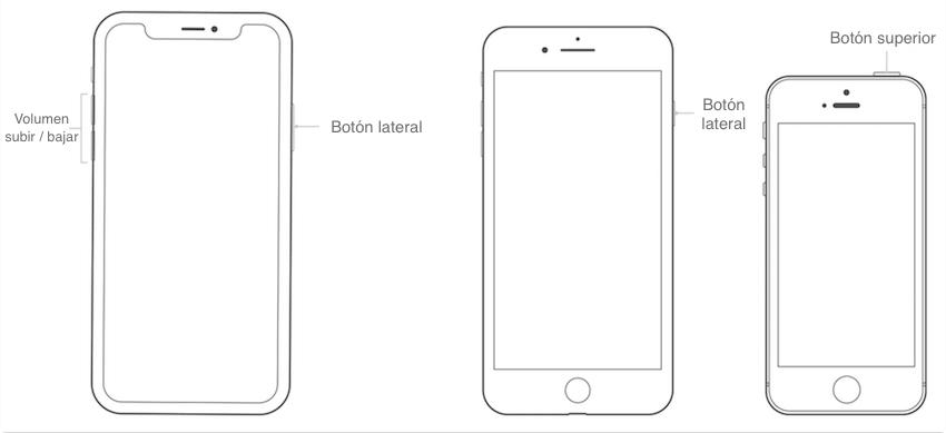 Touch ID no reconoce mi huella - Reinicia tu iPhone