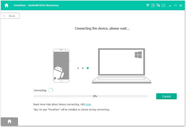 Programa para recuperar fotos borradas - FonePaw Android Data Recovery