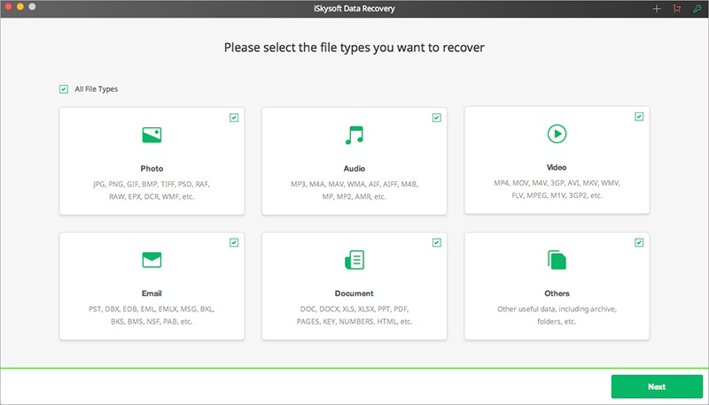 Programa para recuperar fotos borradas del celular - iSkysoft iOS Data Recovery