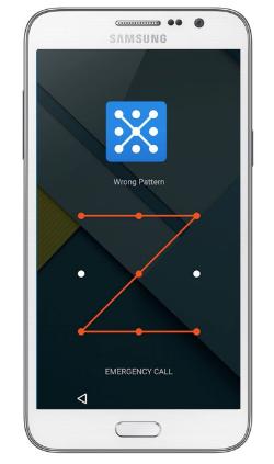 Cómo sacar el patrón del celular