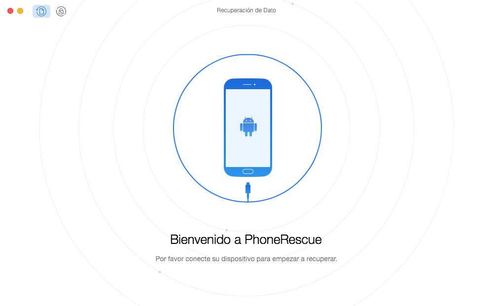 Cómo recuperar fotos y videos borrados en Android - Paso 1