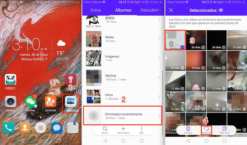 Cómo recuperar videos borrados en el celular