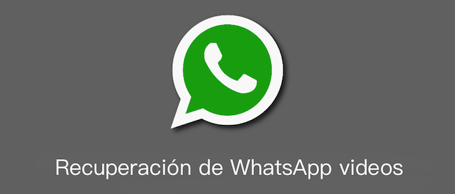 Cómo recuperar videos borrados de WhatsApp