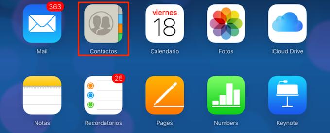 Restaurar iPhone desde iCloud – Paso 1