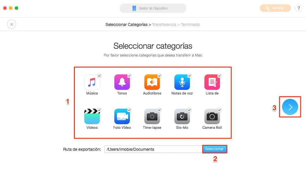 Cómo sincronizar iPhone con PC sin borrar datos - Paso 2