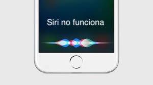 Problemas con Siri