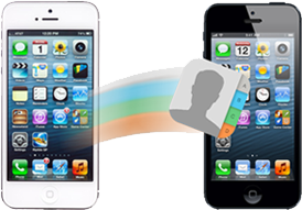Cómo transferir contactos desde el iPhone a iPhone