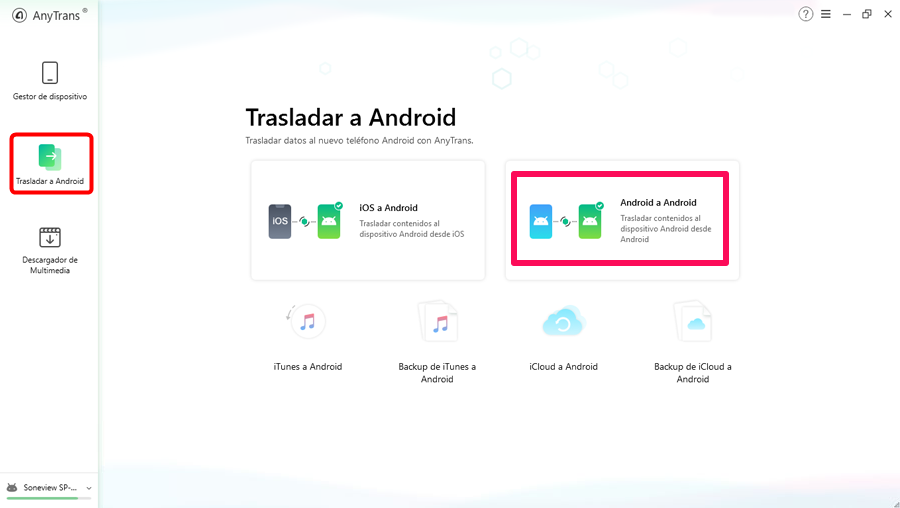 AnyTrans para Android