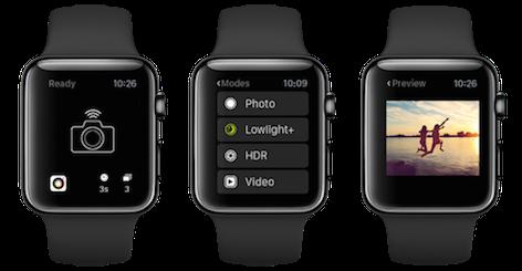 Cómo tomar fotos desde Apple Watch con iPhone
