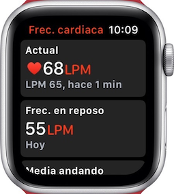 Trucos Apple Watch - Cómo verificar frecuencia cardíaca