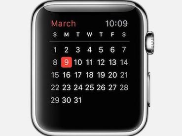 TrucosApple Watch - Verificar el calendario