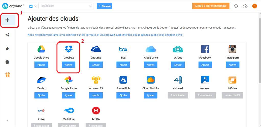 Comment faire pour le lien de partage Dropbox ne fonctionne pas