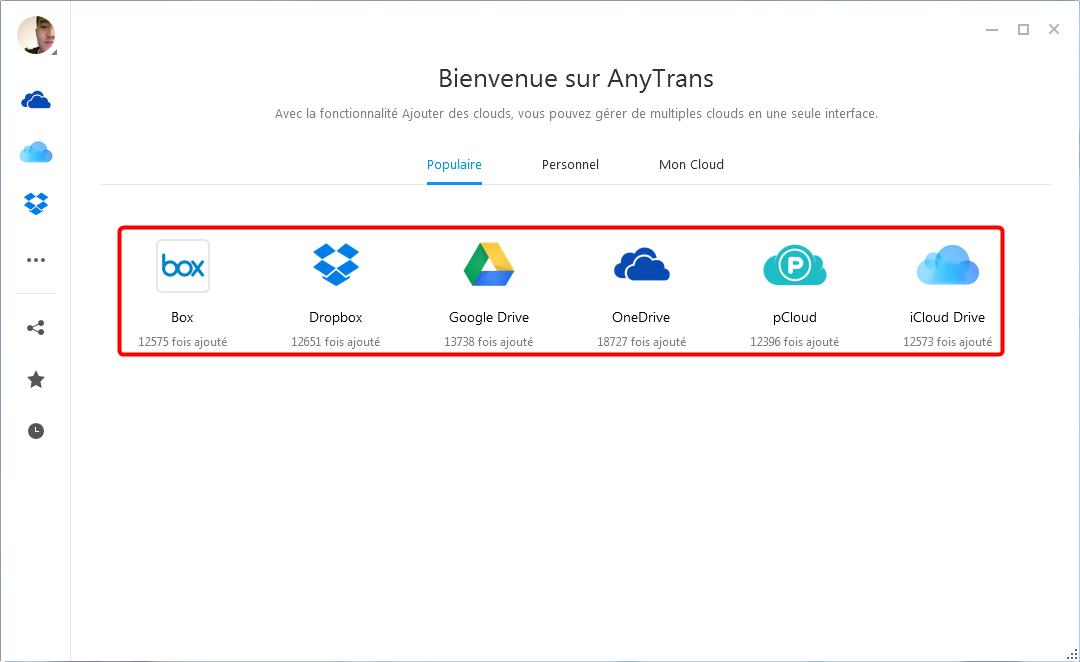 Obtenir l'espace de stockage en ligne gratuit illimité cloud