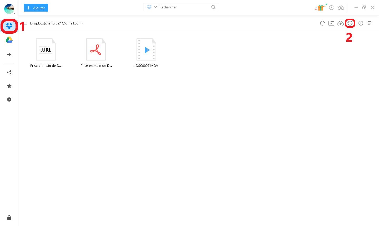 Comment synchroniser des vidéos sur Google Drive avec AnyTrans pour Cloud