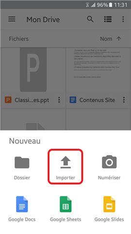 Comment synchroniser des vidéos sur Google Drive à partir d'appareils mobiles