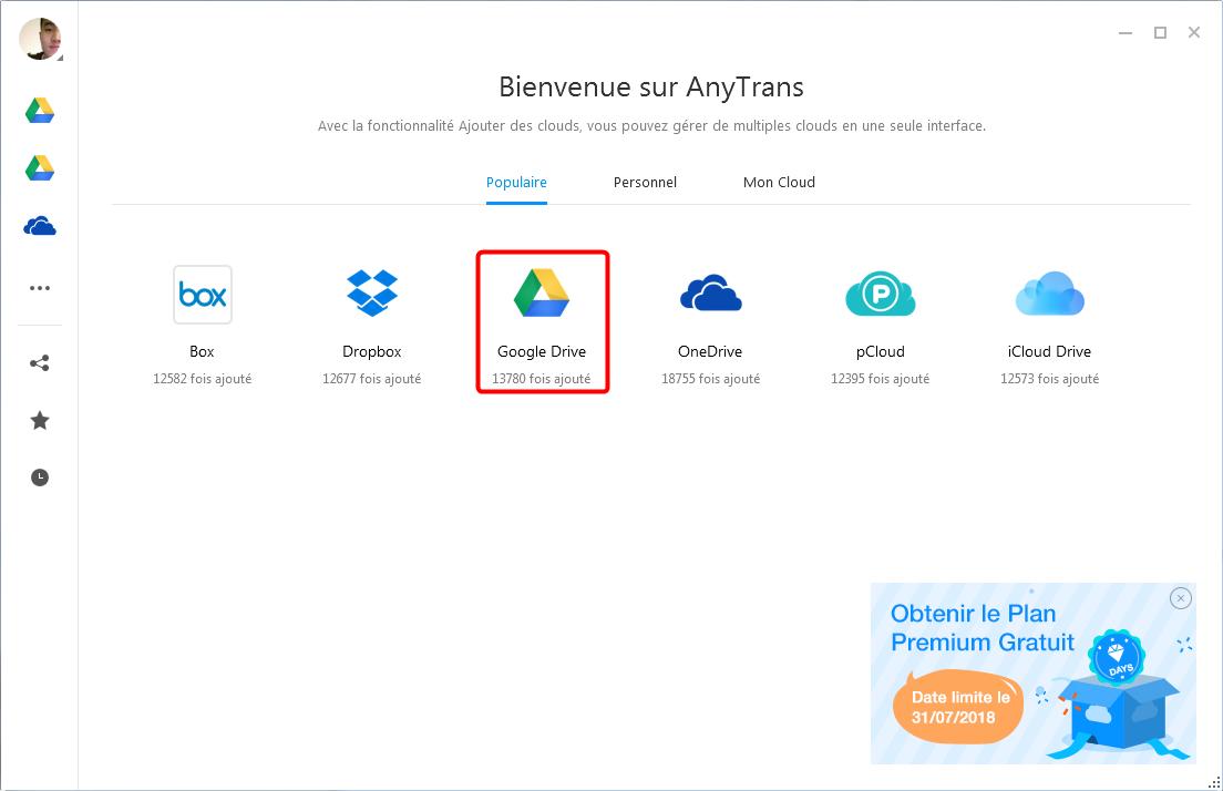 Synchroniser plusieurs comptes Google Drive