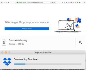 Dropbox ne se synchronise plus avec Mac
