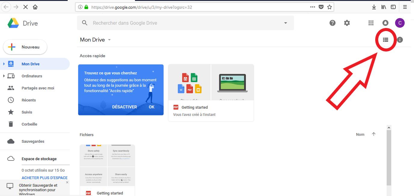 Conseils pour corriger le problème de chargement de Google Drive
