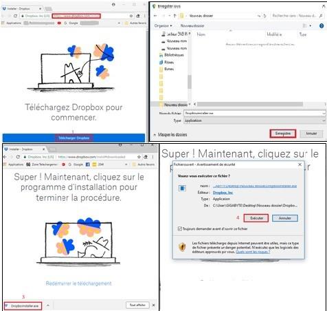 Mettre à jour l'application Dropbox