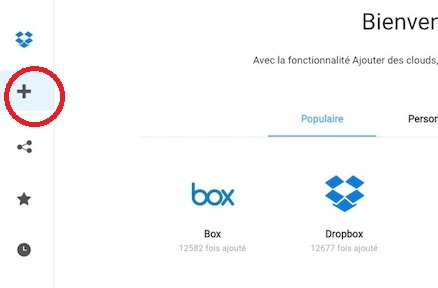 Transférer un document Word Android vers Dropbox