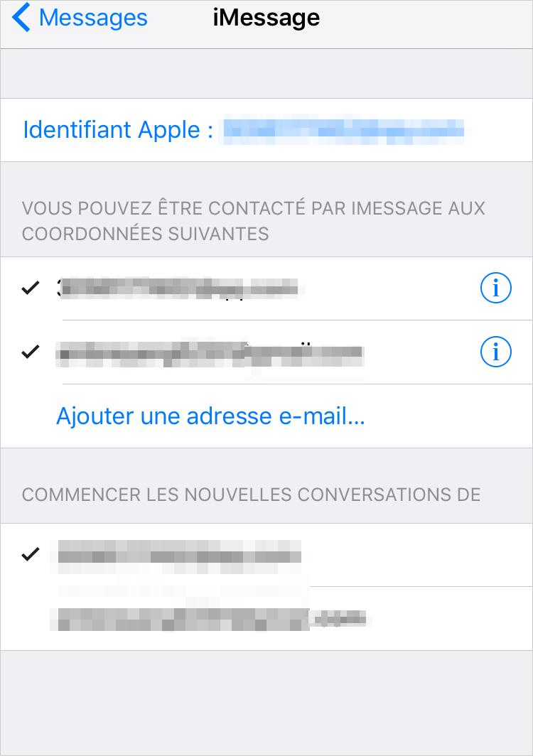 Comment activer le service iMessage sur iPhone – étape 3
