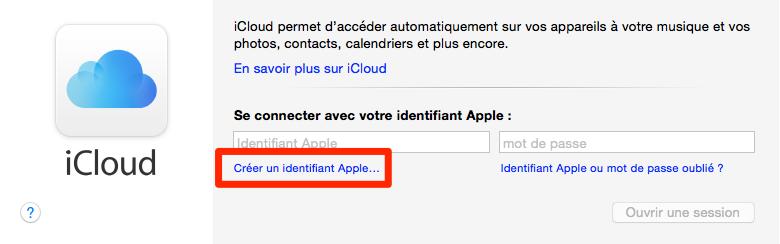 Comment créer un compte iCloud sur Mac