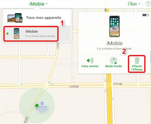 Comment réinitialiser iPhone/iPad bloqué iCloud