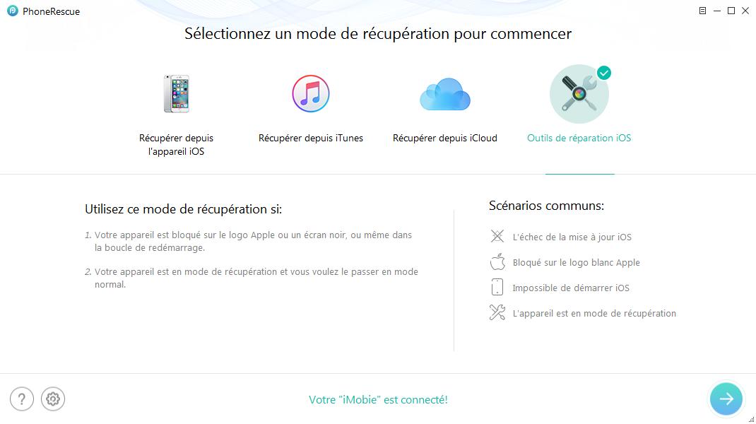 Accélérer votre iPhone en un clic après déblocage d'iCloud